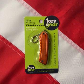 Keychain boxcutter